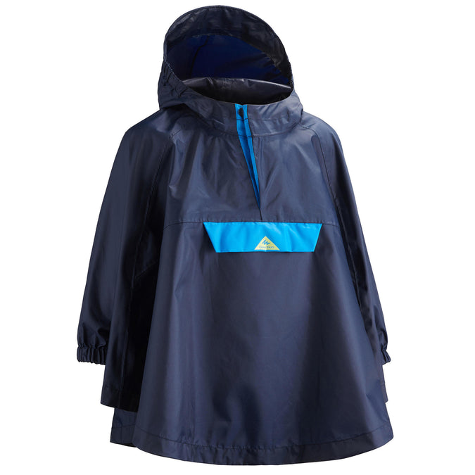 Quechua MH100, Hiking Poncho, Kids',navy blue, photo 1 of 9