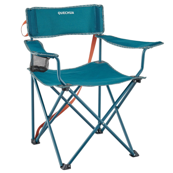 Camping Folding Chair - Basic,green, photo 1 of 9