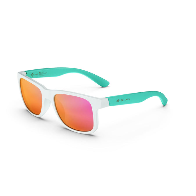 MHT140, Category 3 Hiking Sunglasses, Kids',caribbean blue, photo 1 of 10