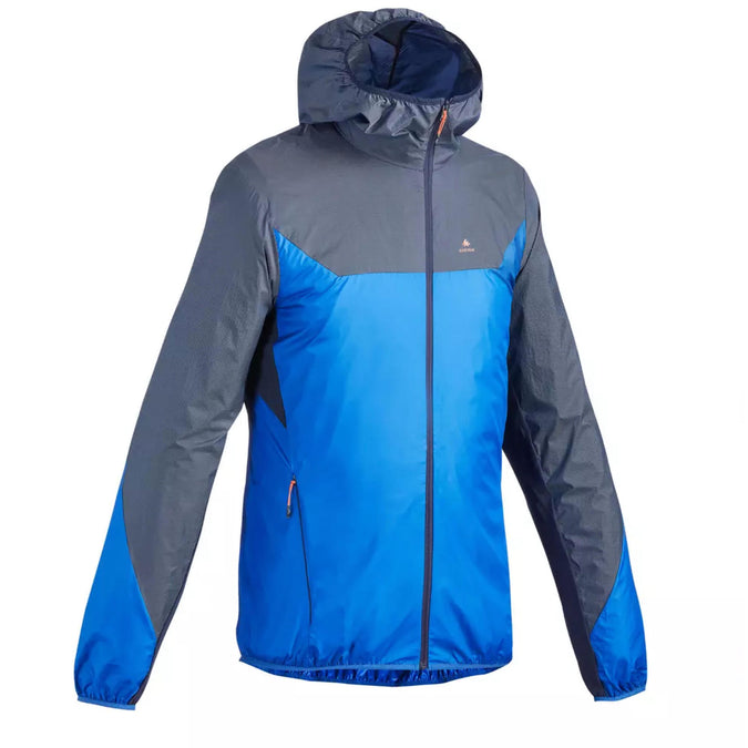 Men's FH500 Windproof Hiking Jacket,midnight blue, photo 1 of 5