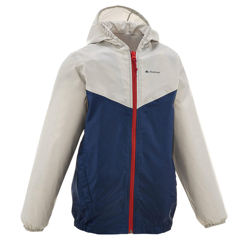Kids' Hiking Waterproof Jacket (7 to 15 Years) MH150,
