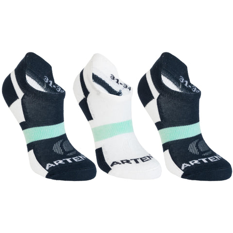 Kids' Sports Socks Low Tri-Pack RS 160,snowy white