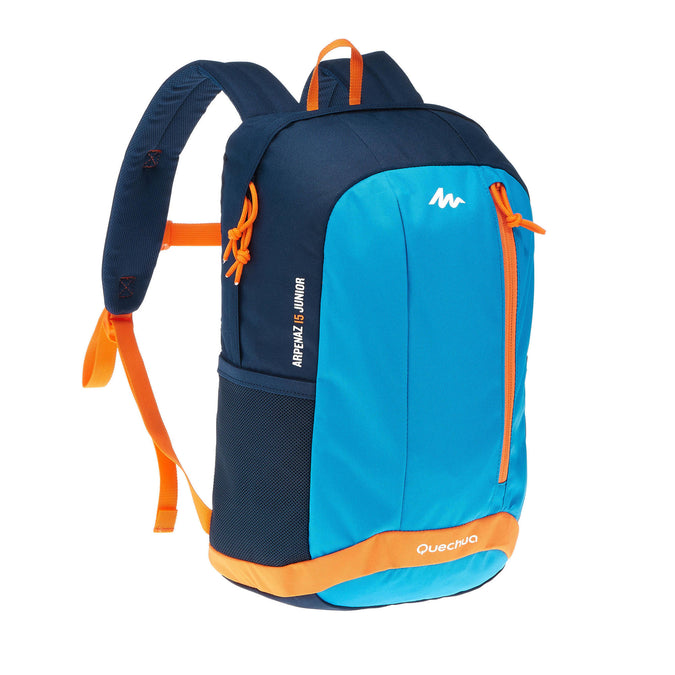 Kids' Hiking Rucksack 15 Liters MH500,pacific blue, photo 1 of 16