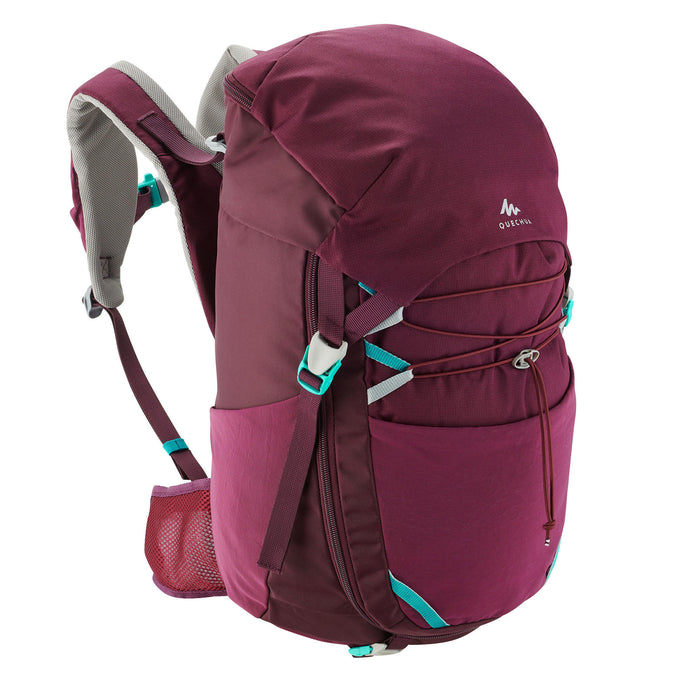 Kids' Hiking Backpack 30 Liters MH500,plum, photo 1 of 19
