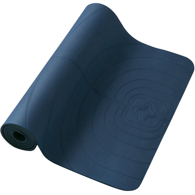 Domyos Club, 5mm Yoga Mat,navy blue, photo 1 of 14