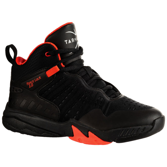 Kids' Basketball Shoes SS500H,black, photo 1 of 9