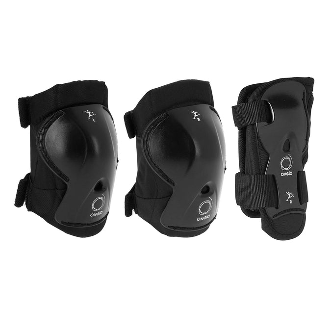 Kids' Set of Inline Skate Play Protectors,black, photo 1 of 9