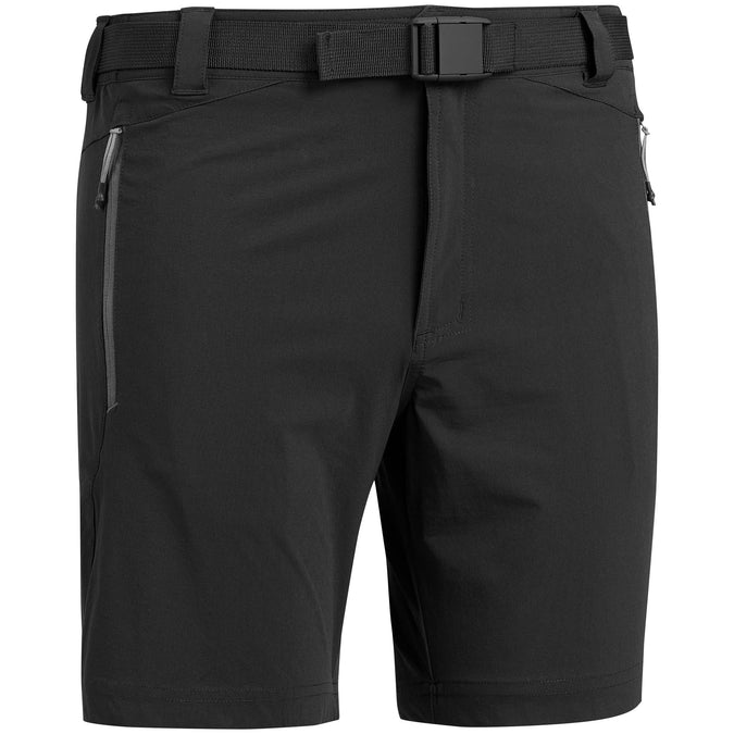 Men's Mountain Walking Short Shorts MH500,black, photo 1 of 7