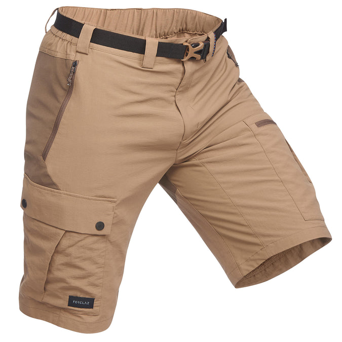 Men's Trek 500 Hiking Shorts,brown, photo 1 of 8