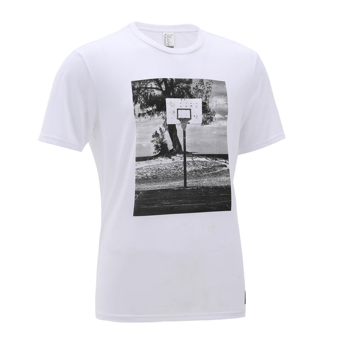 Tarmak TS500, Basketball T-Shirt, Men's,snowy white, photo 1 of 4