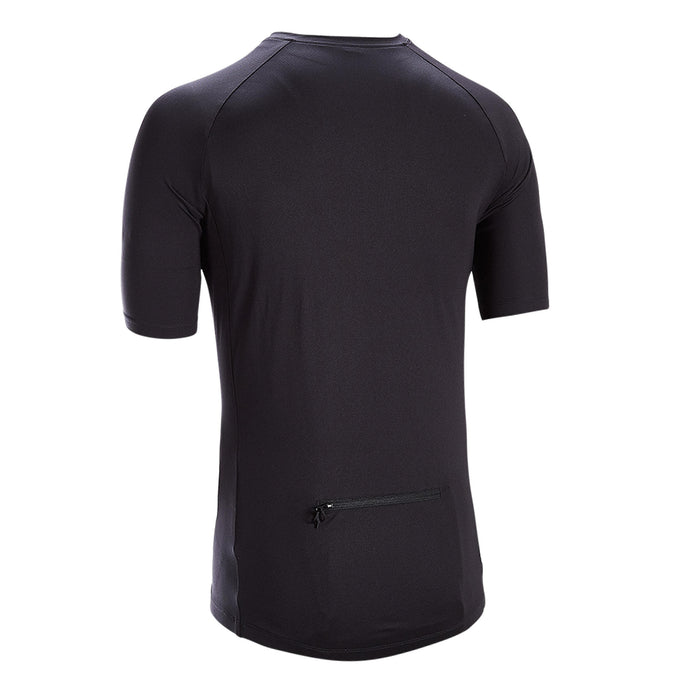 Men's Essential Short-Sleeved Road Cycling Jersey,black, photo 1 of 5