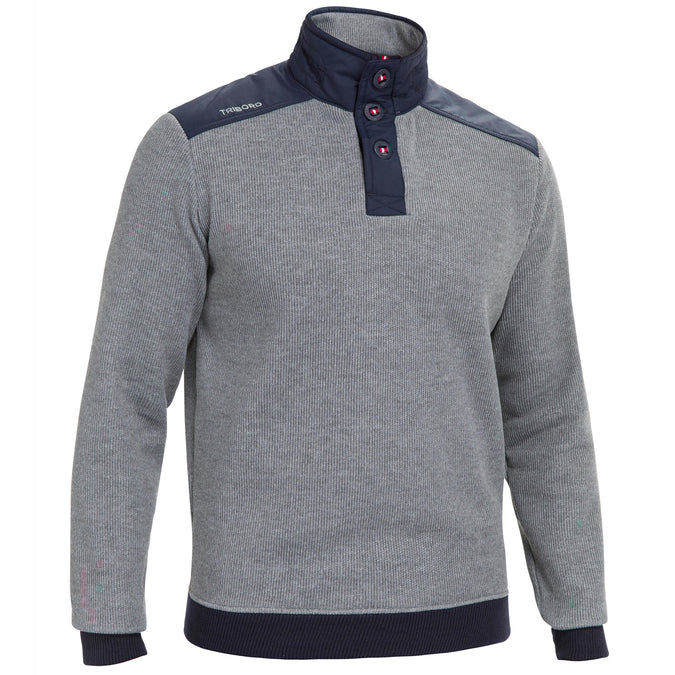Men's Sailing Warm Pullover Sailing 100,gray, photo 1 of 8