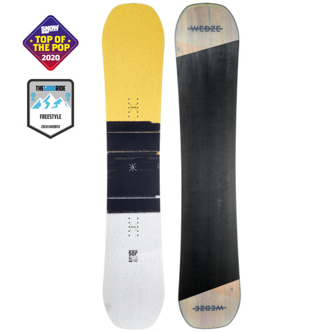 Dreamscape Endzone 500, Freestyle and All Mountain Snowboard, Adult