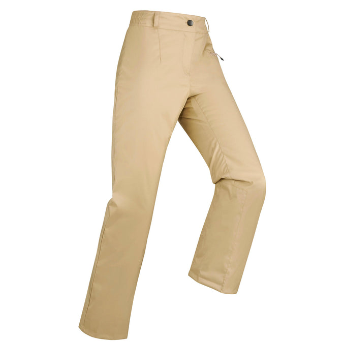 Wedze 100, Downhill Ski Pants, Women's,cappucino, photo 1 of 6