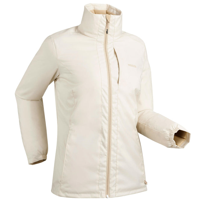 Women's Downhill Ski Jacket 100,linen, photo 1 of 10