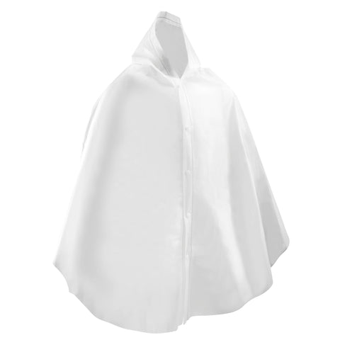 Horse Riding Show Poncho,white