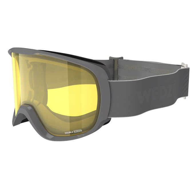 Kid's and Adult's Skiing and Snowboarding Goggles Good Weather G500,pearl gray, photo 1 of 7