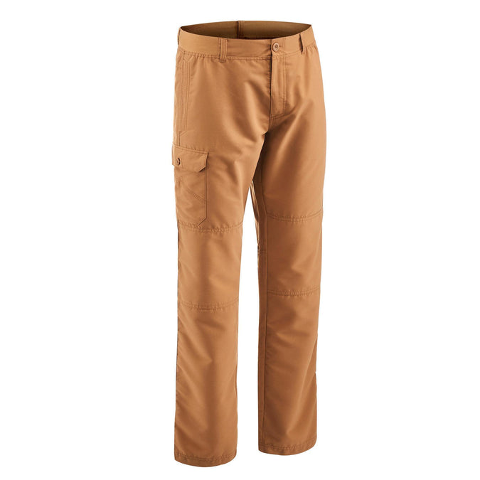 Men's Nature Hiking Pants NH100,hazelnut, photo 1 of 9