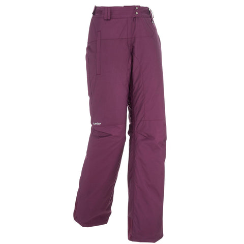 Women's Snowboard and Ski Pants 100,plum
