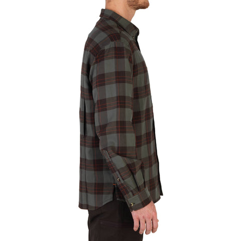 Hunting Shirt Plaid Taiga 100,green