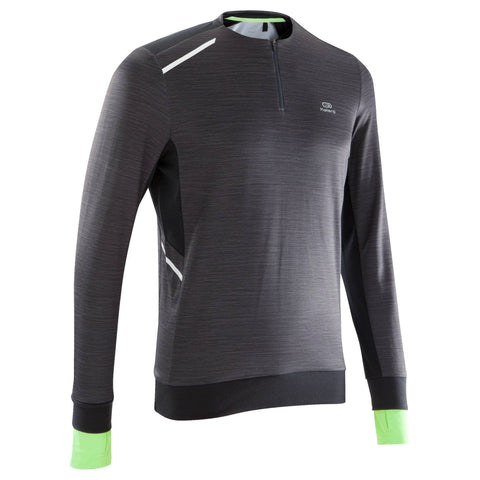 Men's Running Long-Sleeved T-Shirt Run Warm,