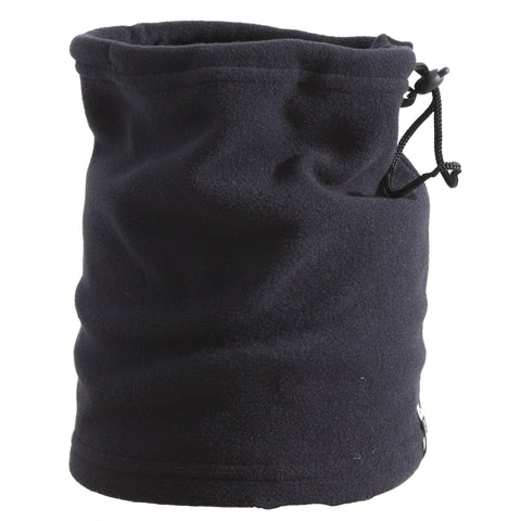 Fleece Toggle Neck Warmer,black