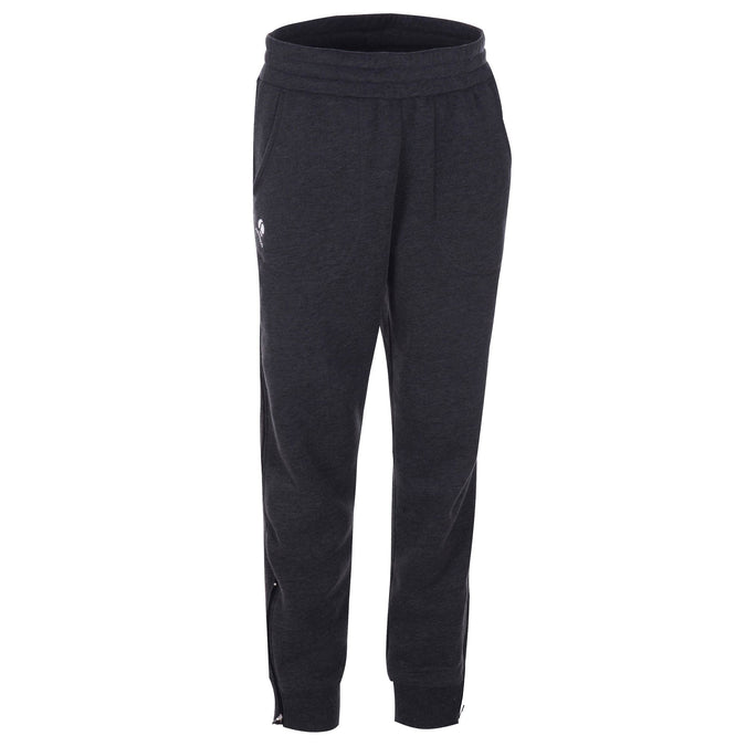 Men's Badminton Sweatpants Soft 500,carbon gray, photo 1 of 7