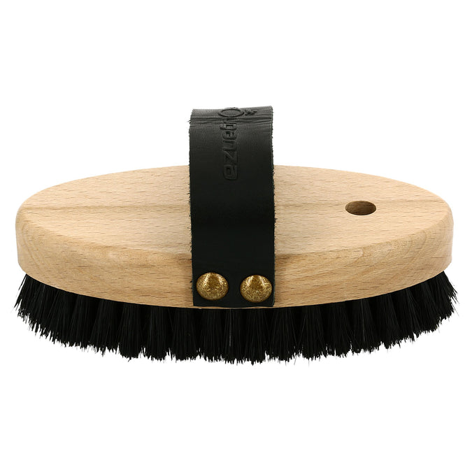 Horse Riding Wooden Backed Soft Face Brush Sentier,black, photo 1 of 6