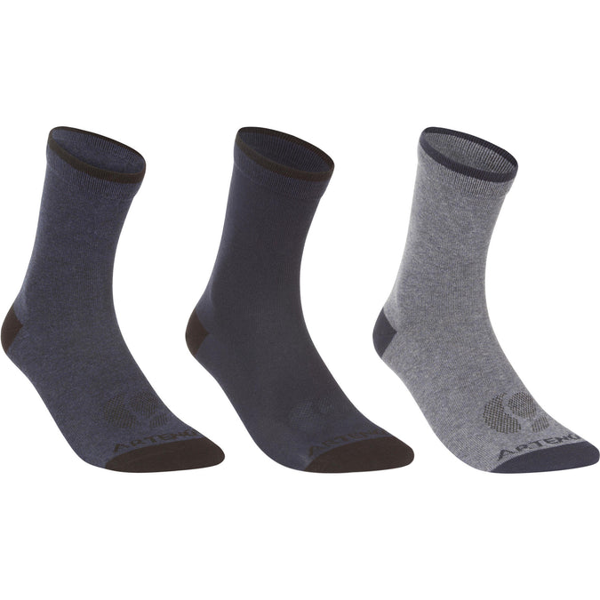Adult High Sports Socks Tri-Pack RS 160,navy blue, photo 1 of 22