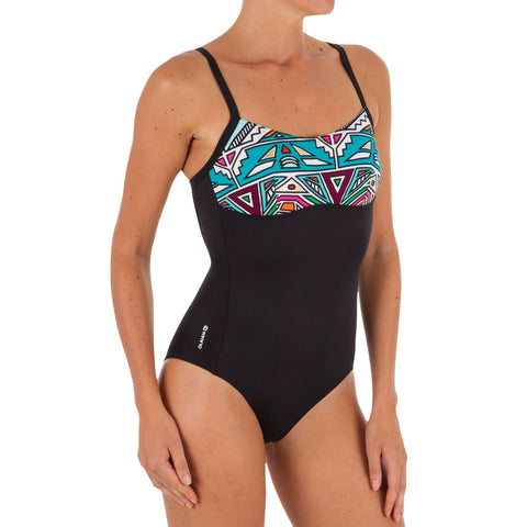 Women's One-Piece X-U Shaped Back Swimsuit Cloe,