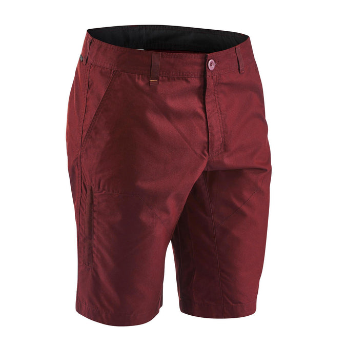 Men's Country Walking Shorts NH500,chocolate truffle, photo 1 of 7