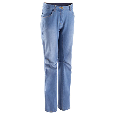 Women's Climbing Jeans Pants,light blue