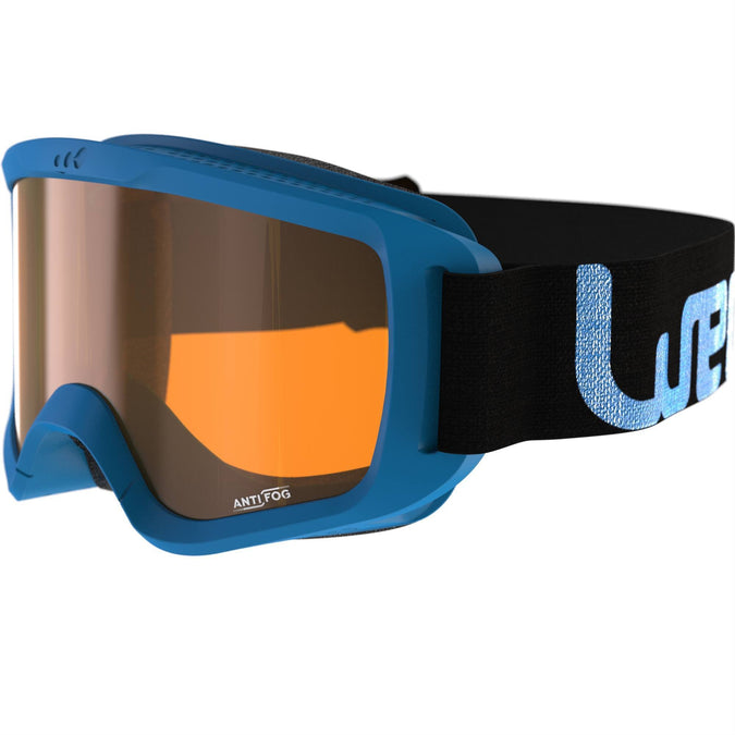 Kid's and Adult's Skiing and Snowboarding Goggles Good Weather G120,cobalt blue, photo 1 of 6