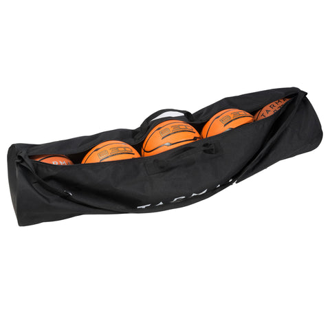Durable Basketball Bag for Carrying Up To 5 Balls (Sizes 5 to 7).,black