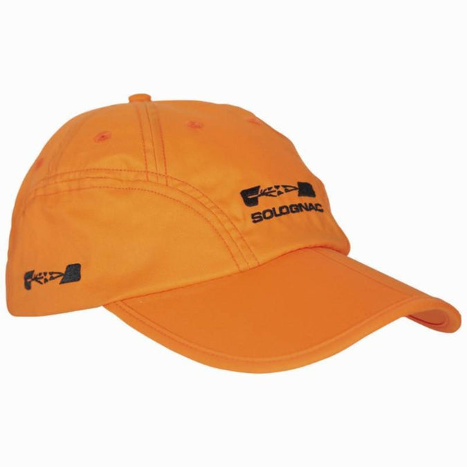 Men's Hunting Folding Cap,safety vest orange, photo 1 of 6