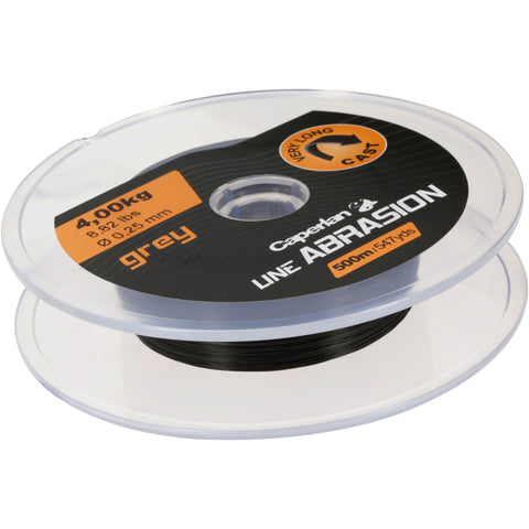 Fishing Abrasion Line 500 M,dark gray