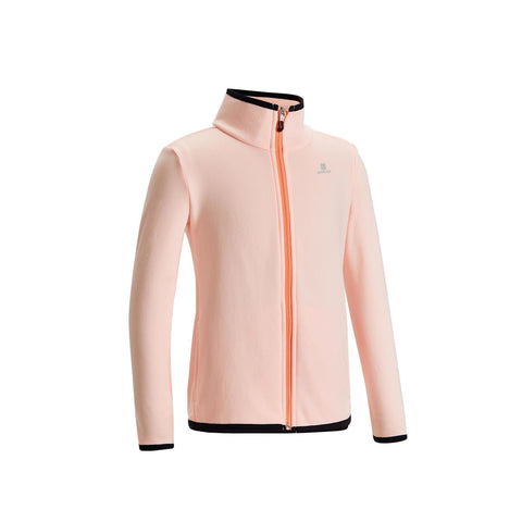 Girls' Gym Jacket Warm Breathable Synthetic S500,