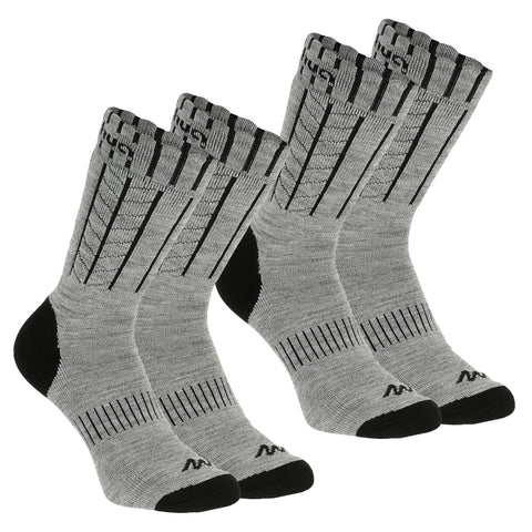 Adult Warm Snow Hiking Socks SH500,