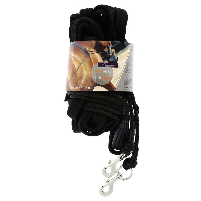 Horse Riding Lunge Reins,black, photo 1 of 4