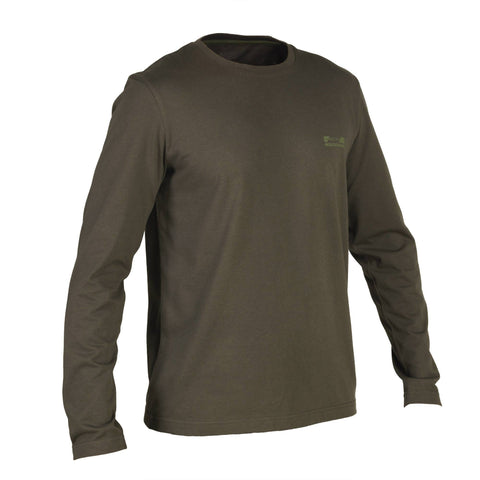 Hunting Long-Sleeve T-Shirt Steppe 100,