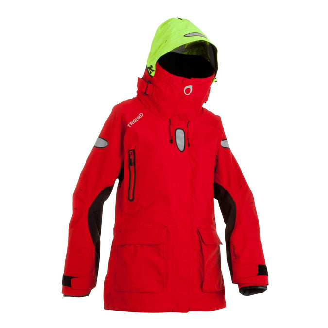 Women's Ocean Sailing Jacket 900,scarlet red, photo 1 of 28