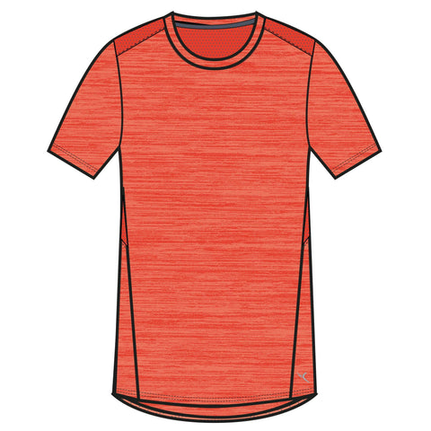 Boys' Gym T-Shirt Breathable Cotton Short-Sleeved 500,