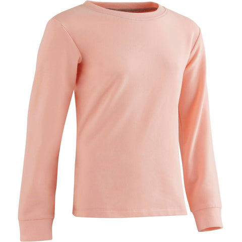 Girls' Gym Sweatshirt Warm,