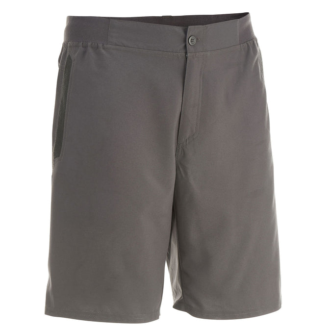 Men's Country Walking Shorts NH100,carbon gray, photo 1 of 10