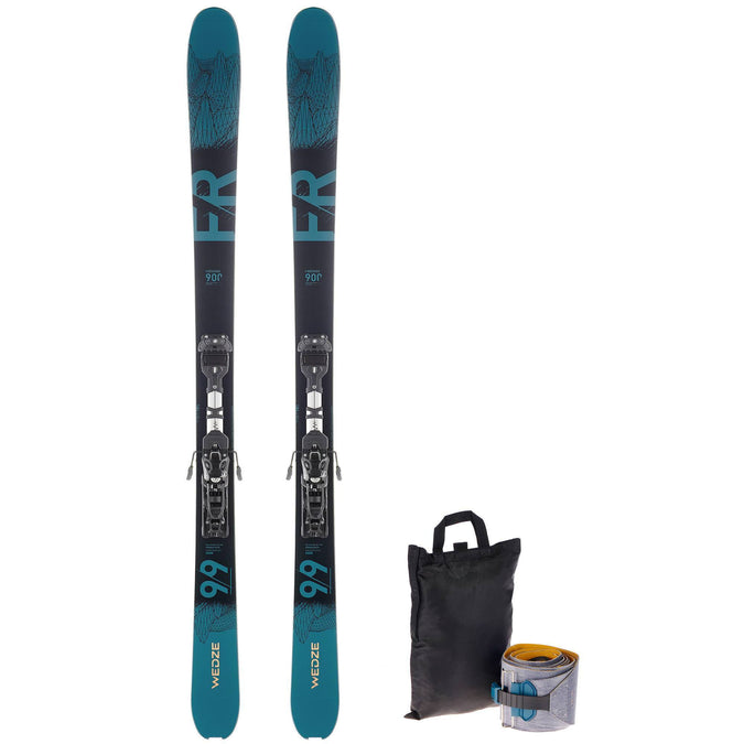 Freeride Touring Skis FR 900,dark petrol blue, photo 1 of 11