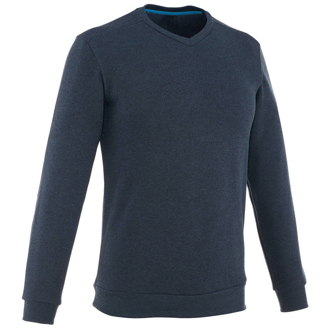 Men's Nature Hiking Pullover NH150,dark blue, photo 1 of 26