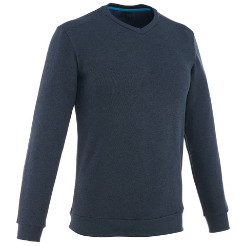 Men's Nature Hiking Pullover NH150,dark blue