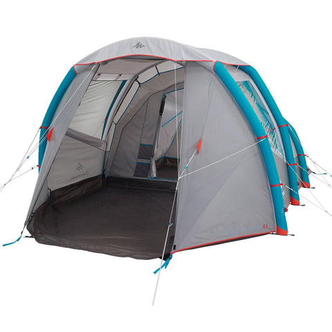 Air Seconds 4.1 Inflatable Camping Tent | 4 Person 1 Bedroom,
