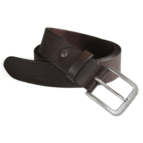 Hunting Leather Belt,brown