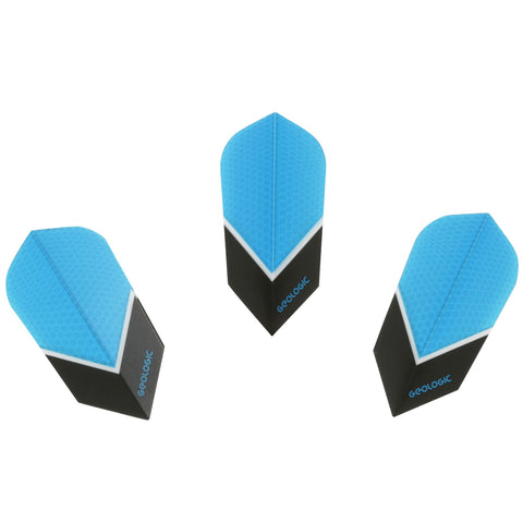 Darts 3 Slim Flights,multicolor